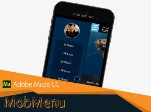 Виджет - Мобильное меню